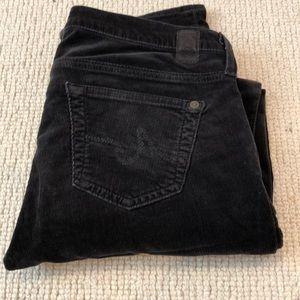 AG Casablanca Corduroy 27 pants in grey brown